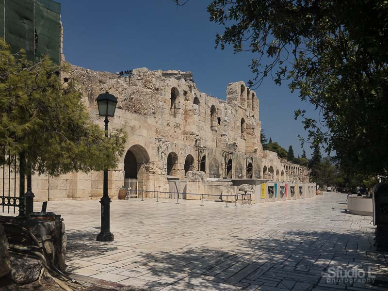 Athens Free Tour | Ancient Theater Odeion of Herodes Atticus