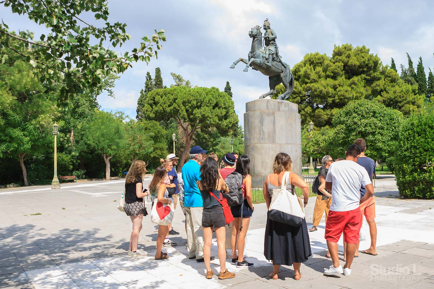 Athens Free Tour | Statue of General Karaiskakis