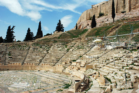 Athens Free Tour | Theatre Of Dionysus
